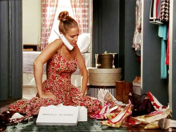 carrie bradshaw shoes 1 - shop home kitchen