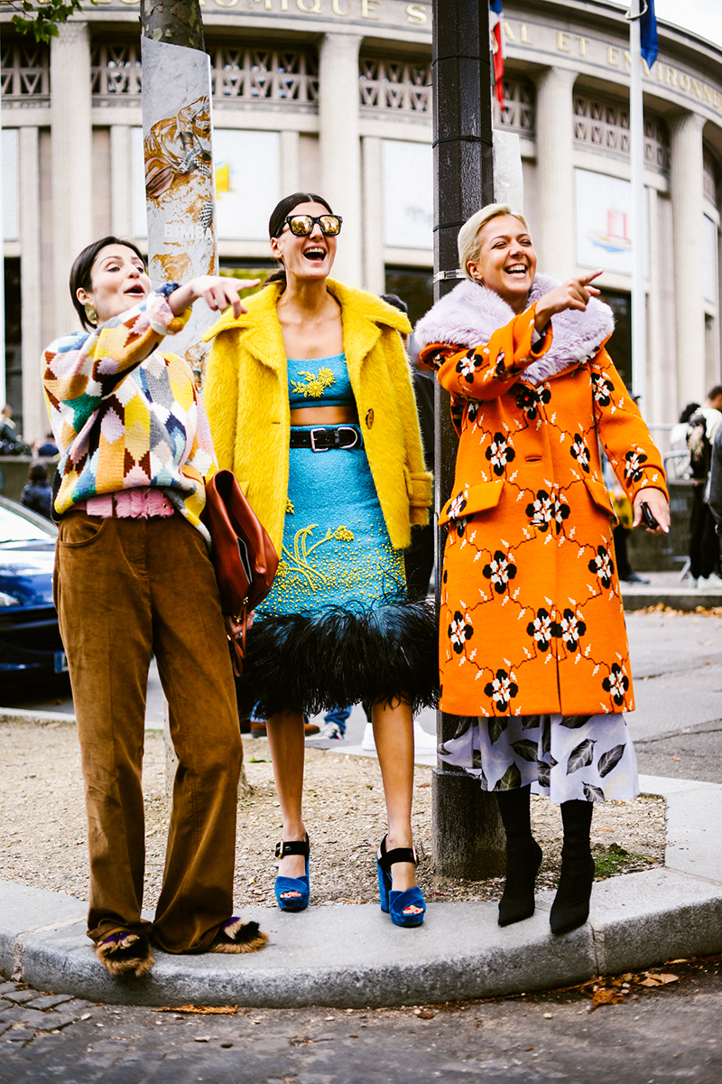 Paris Fashion Week Street Style Lolla 2 - Renata Perlman talked daily fashion and business with the founder of Prêt a Louer, Mariana Marcato
