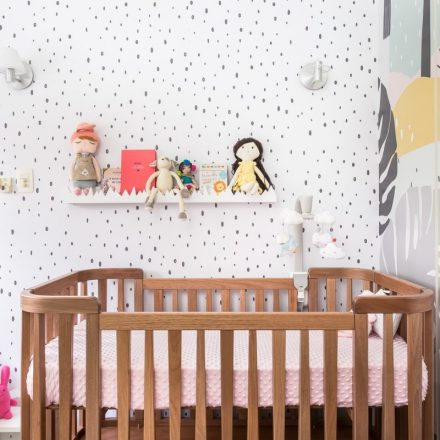 A Beautiful Baby Girl Bedroom, by Luiza Souza from Vogue