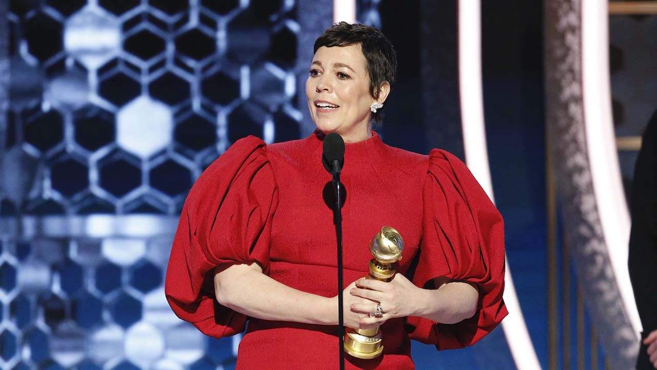 olivia colman onstage golden globes 0 1 - 7 Lovely Moments of the Golden Globes