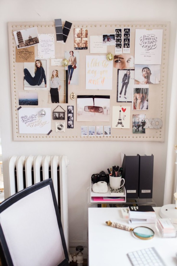 5 Tips For Creating Your 2016 Inspiration Board 4 e1451999327320 - Home Office Ideas