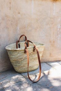 06 a straw tote bag with brown handles is summer and beach classics 200x300 - Our Team Little Joys of the Week