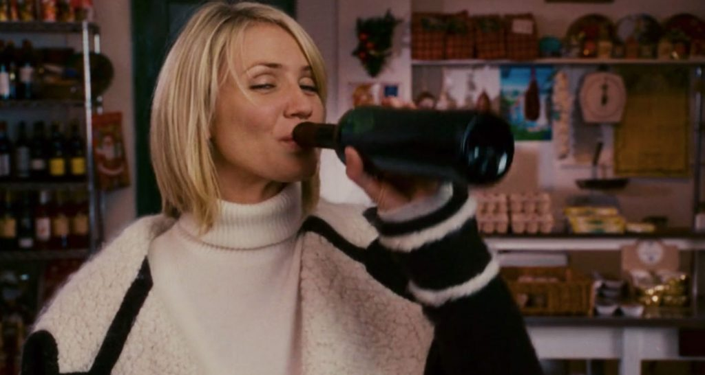 "1544706491250 cameron diaz the holiday food 1024x546 - Filmes de Natal, Por Uma Judia Aficcionada pela ""That Time of The Year"""