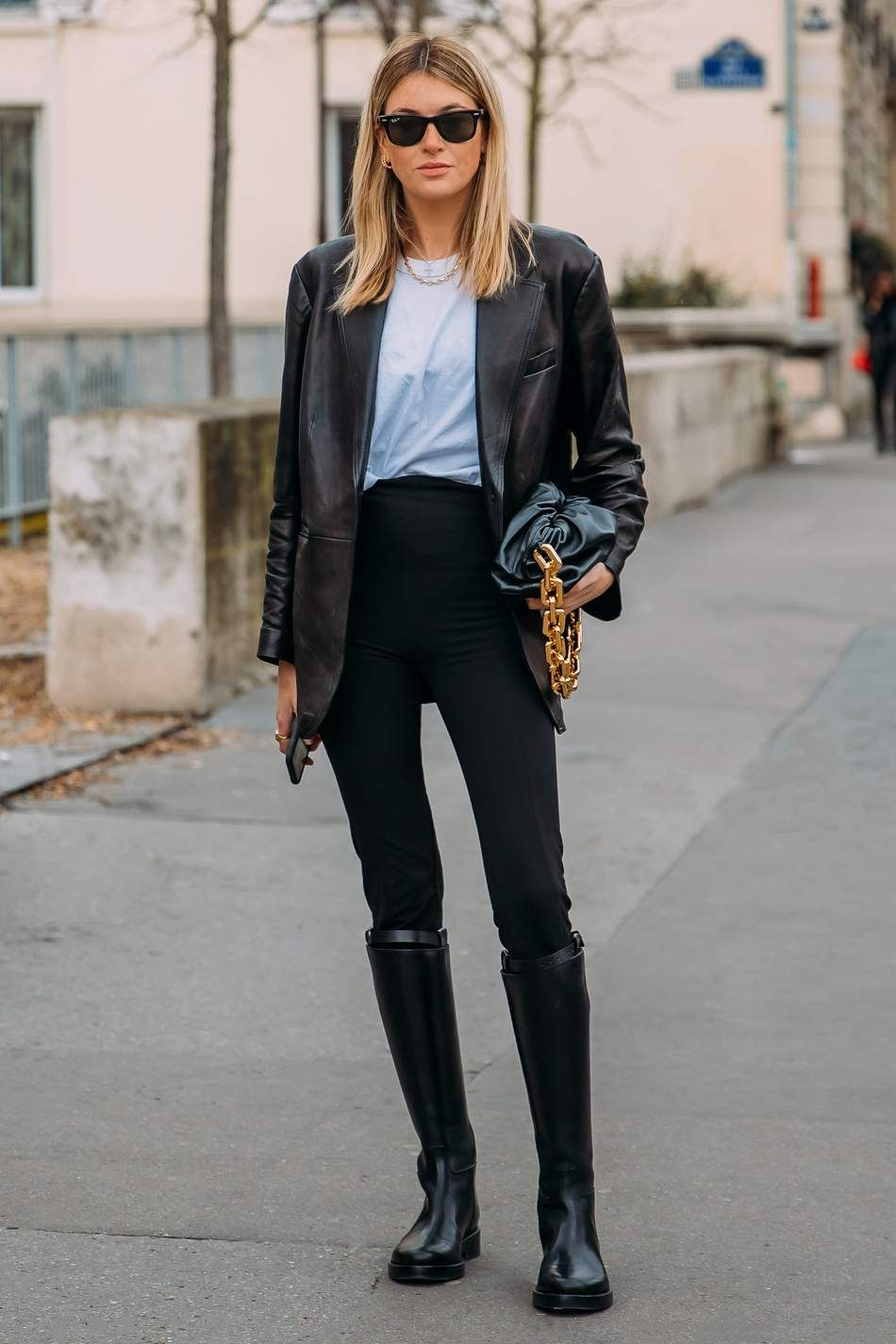 The best street style moments from Paris Fashion Week - Como Usar Calça Legging