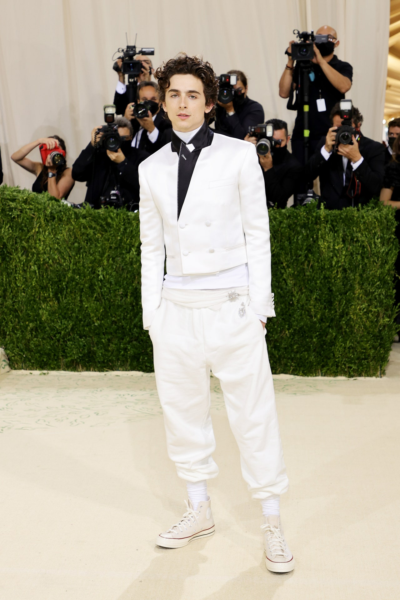 GettyImages 1340124961 - RED CARPET: Os Looks do MET GALA 2021