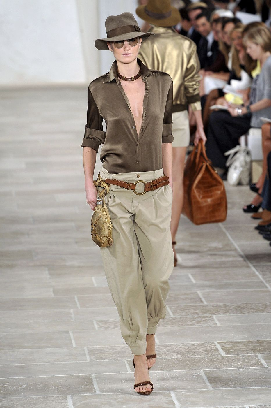 Ralph Lauren at New York Fashion Week Spring 2009 - Back to The Office: Chic & Cool Looks Para Trabalhar Lolla Approved