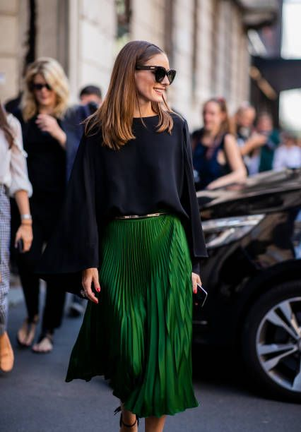 Olivia Palermo Fotografías e imágenes de stock 1 - Back to The Office: Chic & Cool Looks Para Trabalhar Lolla Approved